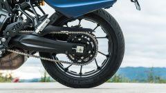 Comparativa crossover: Yamaha Tracer 700, il posteriore