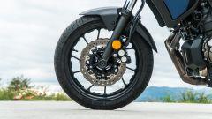 Comparativa crossover: Yamaha Tracer 700, l'avantreno