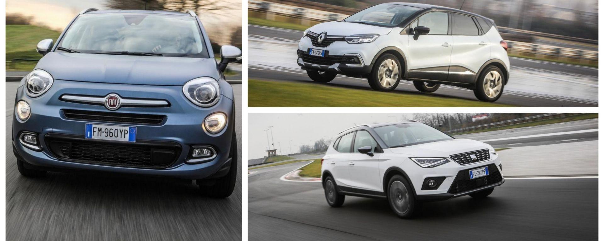 Fiat 500X, Renault Captur o Seat Arona? La stampa UK dice...