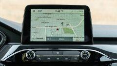 Comparativa Ford Kuga vs Hyundai Tucson: il display dell'infotainment a bordo della Kuga