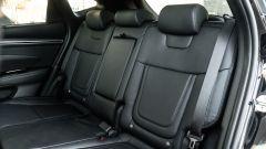 Comparativa Ford Kuga vs Hyundai Tucson: il divanetto posteriore del SUV coreano