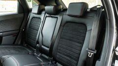 Comparativa Ford Kuga vs Hyundai Tucson: sulla Kuga il divanetto posteriore è scorrevole