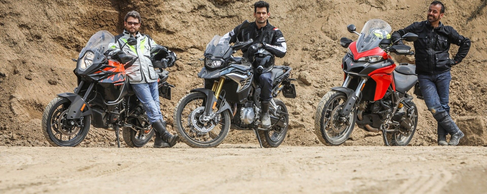Prova Bmw F 850 Gs Vs Ducati Multistrada 950 Vs Ktm 1090 Adventure