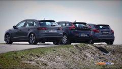Audi A3, Mercedes Classe A, Volvo V40 - Immagine: 3