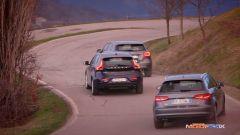 Audi A3, Mercedes Classe A, Volvo V40 - Immagine: 5