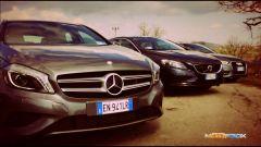 Audi A3, Mercedes Classe A, Volvo V40 - Immagine: 1