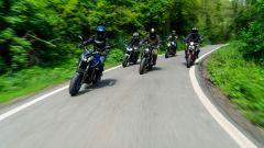 Video comparativa naked: Honda, Triumph, Kawasaki, Suzuki, Yamaha