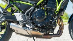 Comparativa naked medie: Kawasaki Z650, il motore