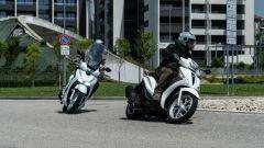 Comparativa scooter 150:  Honda SH e Piaggio Medley in azione