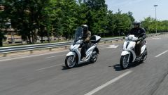 Comparativa scooter 150: meglio Honda SH o Piaggio Medley