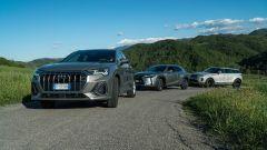 Comparativa SUV foto dinamica