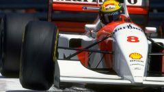Con la MP4/8-6 Senna trionfò per la sesta volta a Monaco, record ad oggi imbattuto in Formula 1