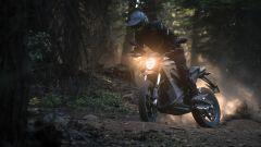 Con la Zero Motorcycle DS ZF 14.4 ci  si diverte anche in fuoristrada