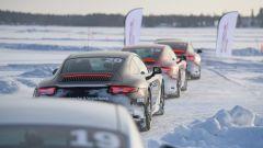 Con le Porsche 911 GTS e 911 4 GTS a lezione di drifting e pendolo