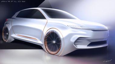 Concept Airflow Vision, star dello stand FCA al CES 2020