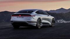Concept Audi A6 e-tron: 476 CV di potenza massima