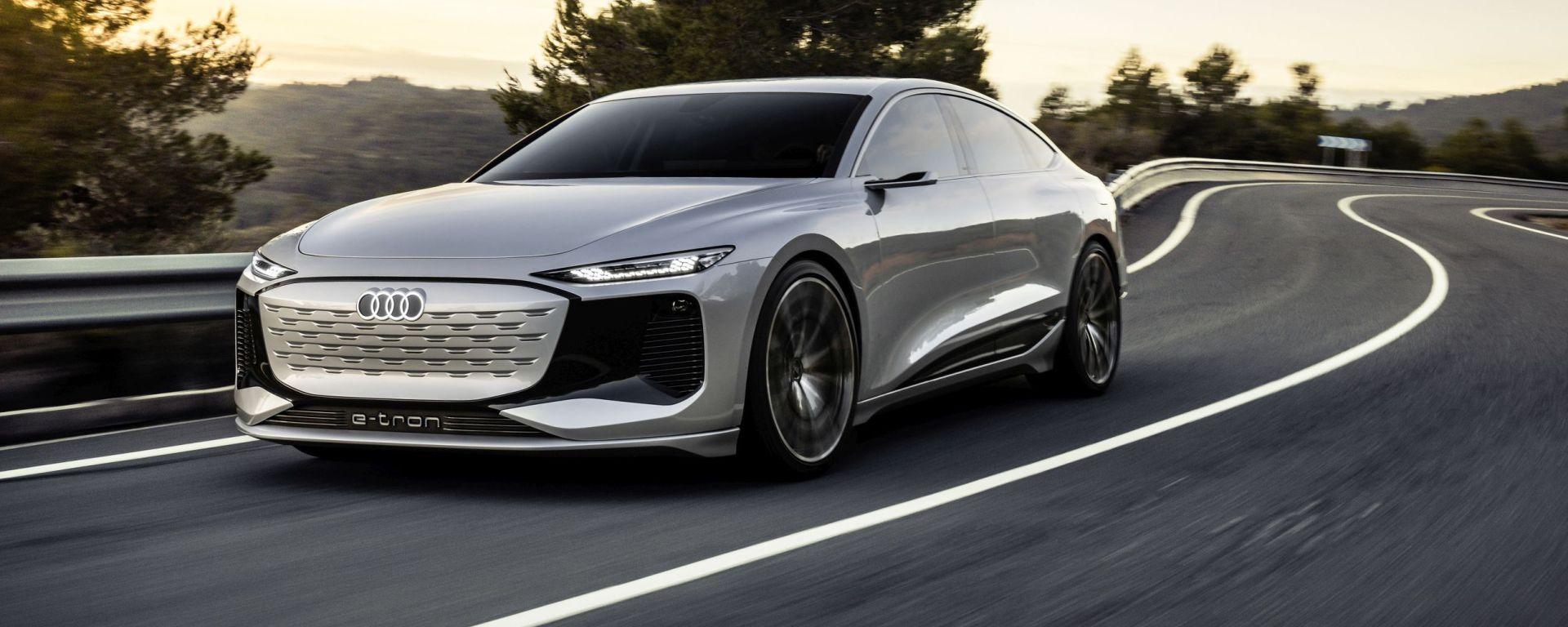 Concept Audi A6 e-tron: 700 km di autonomia