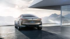 Concept della BMW i4: visuale posteriore