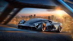 Concept Lamborghini Terzo Millennio: il frontale