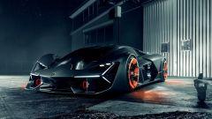Concept Lamborghini Terzo Millennio: vista 3/4 anteriore