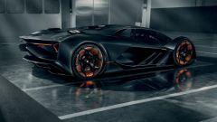 Concept Lamborghini Terzo Millennio: vista 3/4 posteriore