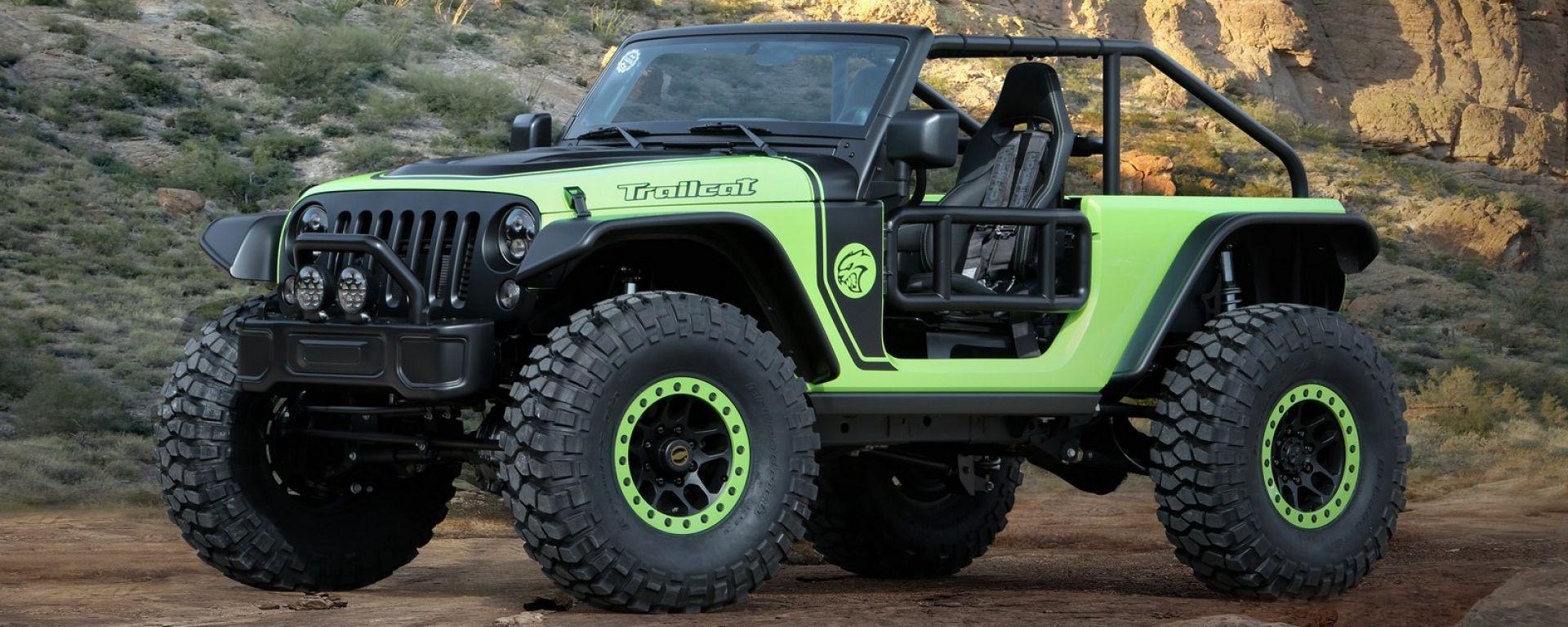 I concept proposti da Jeep per il Moab Safari 2016