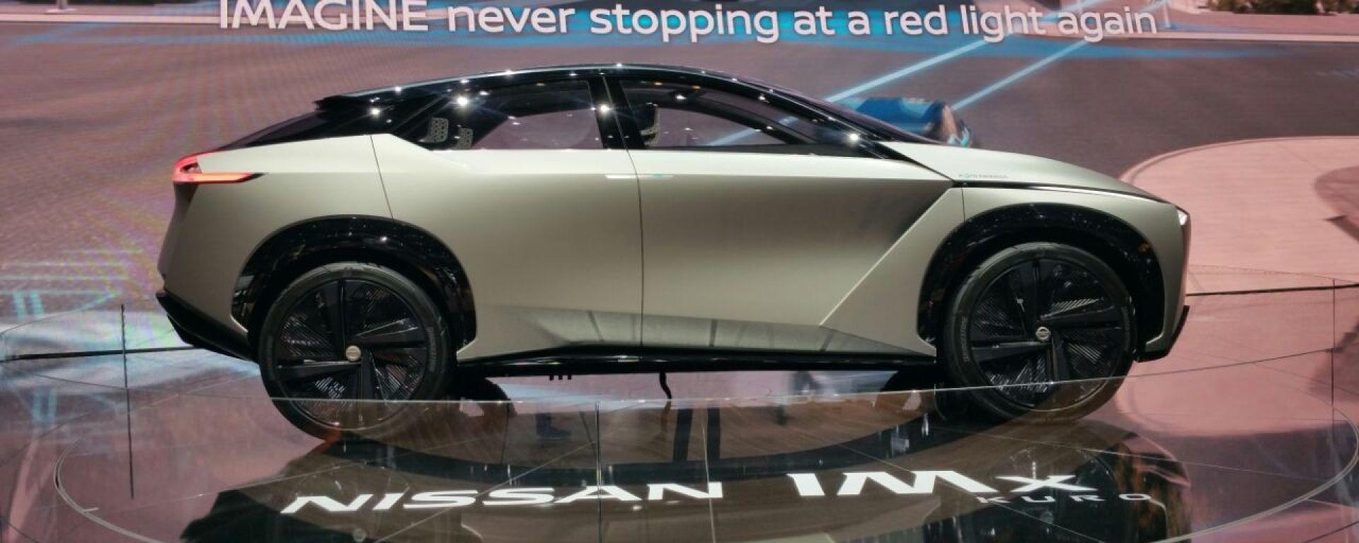 Concept Nissan IMx Kuro, Live Salone di Ginevra 2018