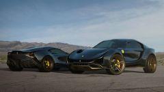 Concept non ufficiale Ferrari Simoom by Dejan Hristov: il nome Simoom viene da un vento del deserto