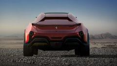 Concept non ufficiale Ferrari Simoom by Dejan Hristov: il posteriore