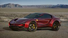 Concept non ufficiale Ferrari Simoom by Dejan Hristov: qualche spigolo richiama alle Ferrari Roma e Portofino