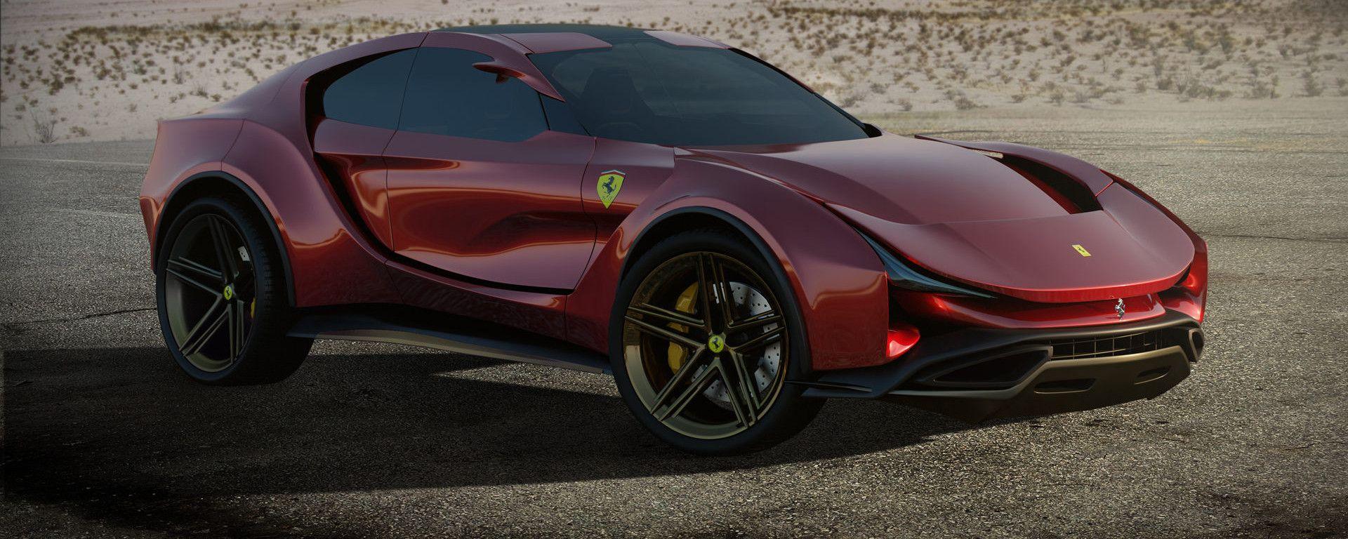 Concept non ufficiale Ferrari Simoom by Dejan Hristov: un rendering che fa sognare