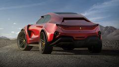Concept non ufficiale Ferrari Simoom by Dejan Hristov