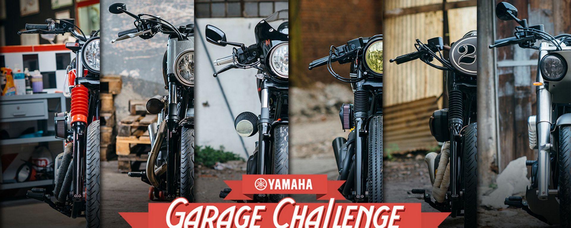 """Concorso Yamaha """"XV950 Garage Challenge"""""""