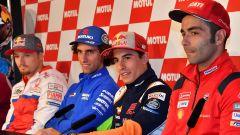 MotoGP Assen, le parole della vigilia di Rossi, Marquez, Dovizioso