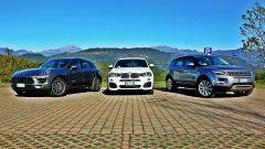 Porsche Macan vs BMW X4 vs Range Rover Evoque - Immagine: 2