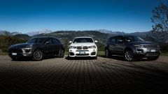 Porsche Macan vs BMW X4 vs Range Rover Evoque - Immagine: 1