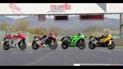 Immagine 2: Al Mugello con le 1000 Superbike 2011