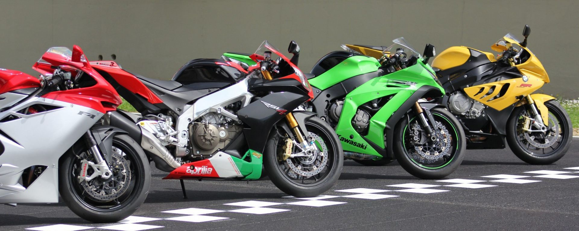 Al Mugello con le 1000 Superbike 2011