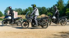 Moto Guzzi V85TT, Triumph Tiger 800 Xr, Suzuki V-Strom 1000 XT | la comparativa