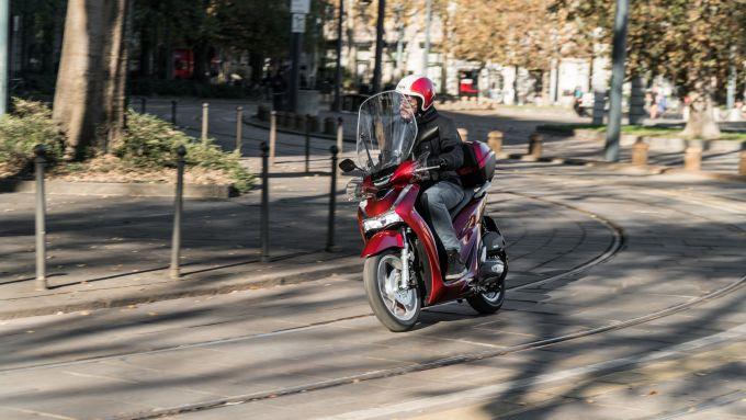 Continua la leadership di Honda SH nel segmento scooter anche a inizio 2021