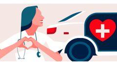 Coronavirus: con Free Now i tassisti trasporteranno medici e infermieri gratuitamente a Roma e Milano