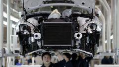 Coronavirus: in cina le fabbriche auto sono ripartite da fine febbraio
