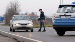 Coronavirus e controlli Polizia, su quali strade sono in atto