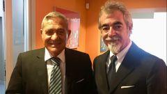 Corrado Capelli (presidente Ancma) e Pierfrancesco Caliari (direttore generale Eicma)