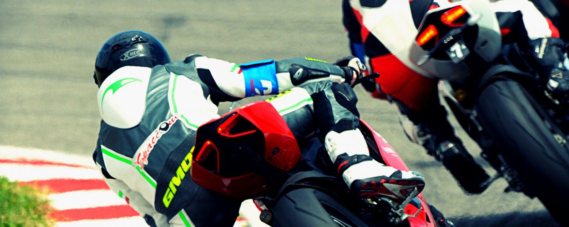 Ducati DRE: tra i cordoli con il maestro