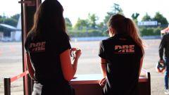 Corso guida DRE Ducati Riding Experience Precision, le hostess