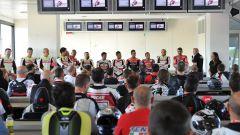 Corso guida DRE Ducati Riding Experience Precision, le lezioni teoriche in aula