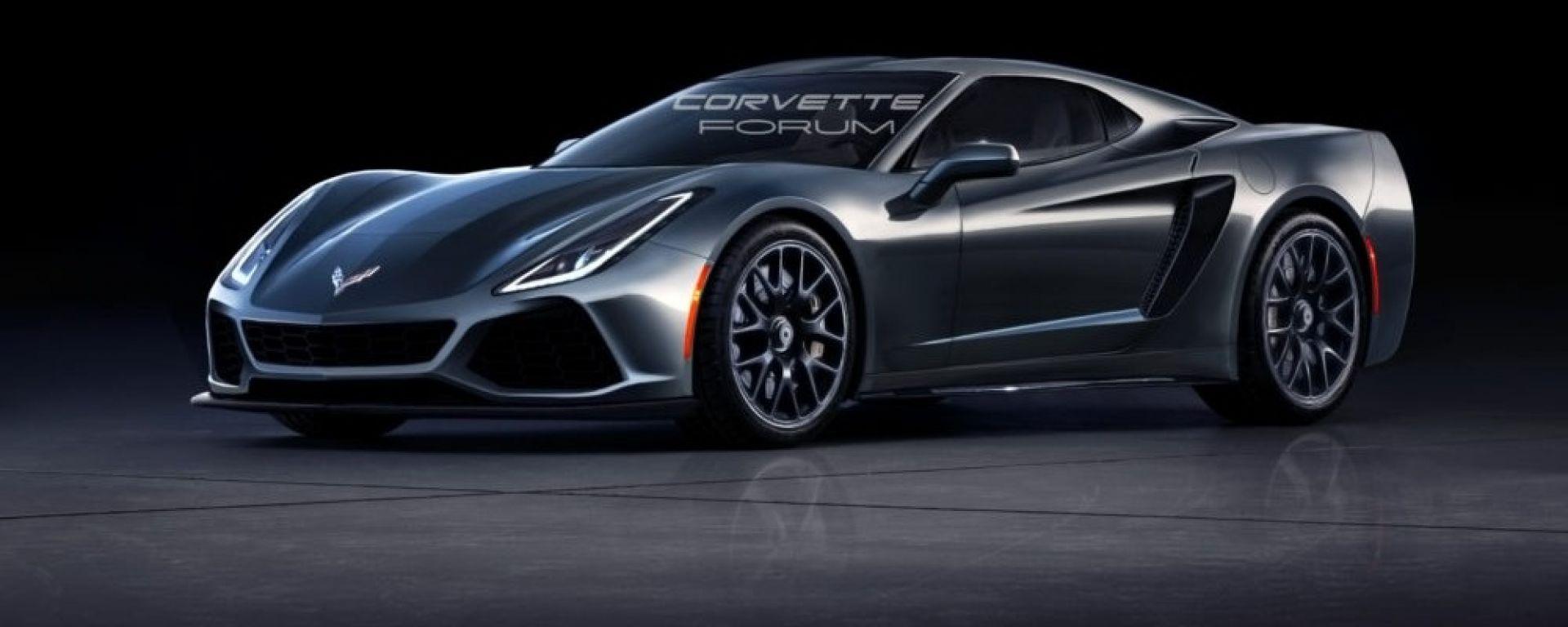 Corvette C8 a motore centrale: sarà anche biturbo e avrà fino a 850 CV - MotorBox