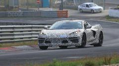 Corvette C8: ecco le nuove foto spy dal Nurburgring (video) - Immagine: 14
