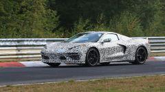 Corvette C8: ecco le nuove foto spy dal Nurburgring (video) - Immagine: 15